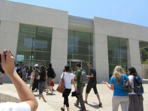 FFIPP Interns at Yad Vashem, the Jewish people's living memorial to the Holocaust